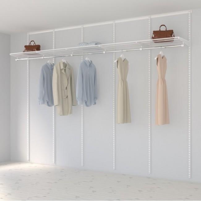 Kit dressing Basique - L300xP40 cm - blanc ELFA