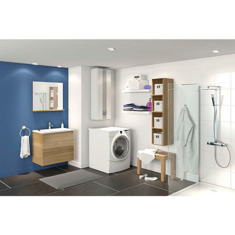 chauffe eau mural rectangulaire st atite 40 l lin o atlantic bricozor. Black Bedroom Furniture Sets. Home Design Ideas