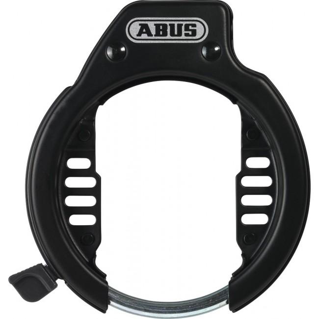 Antivol cadre de vélo - 65/105 mm - type 52 + bandes de serrage LH ABUS