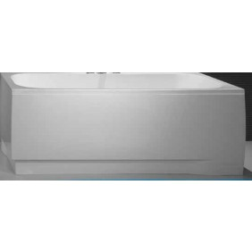 Tablier pour baignoire rectangulaire Frisbee - Acrylique - en L LEDA