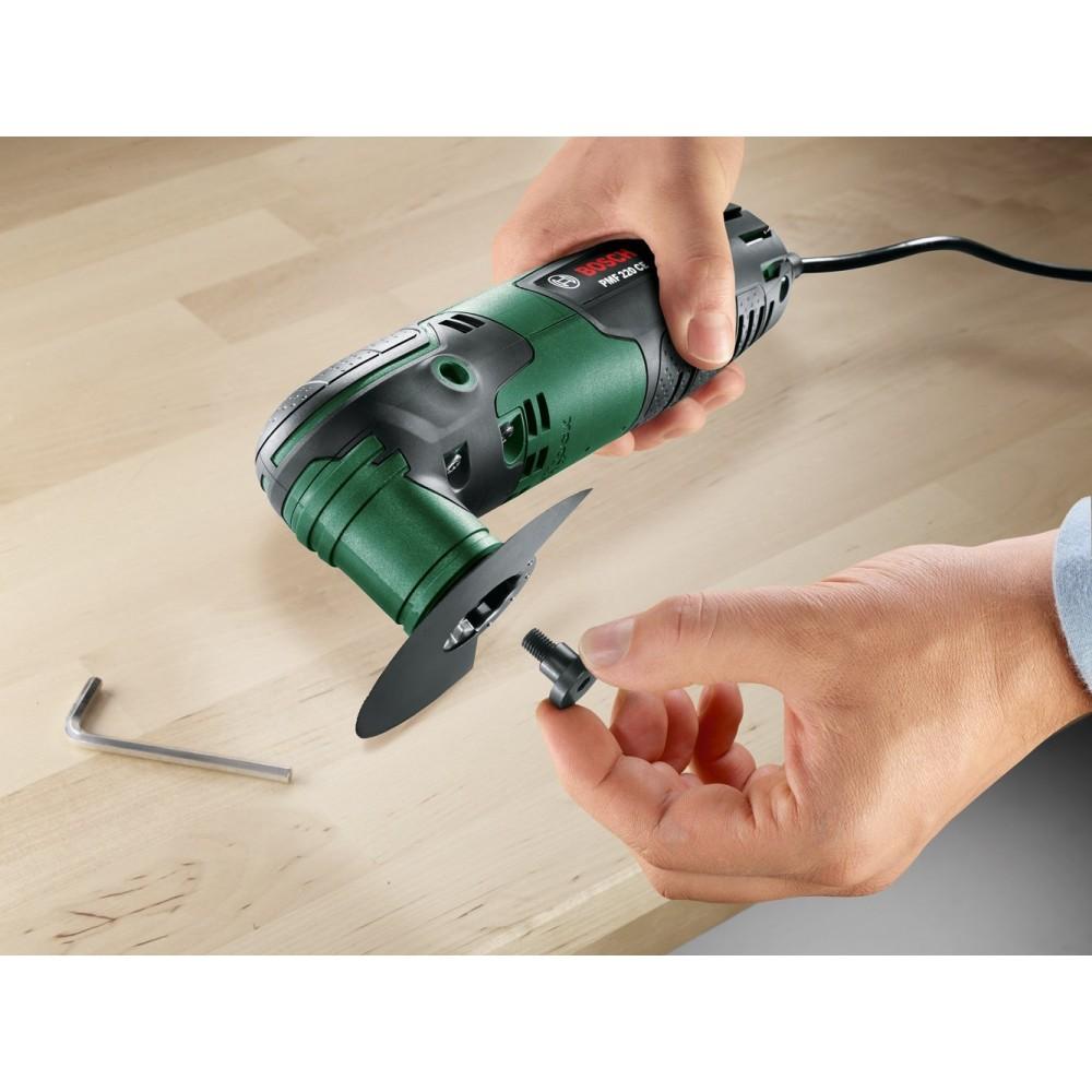 outil multifonction 220 w pmf 220 + 13 accessoires - 0603102001