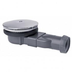 Bonde de douche extra-plate - sortie horizontale - Slim WIRQUIN PRO