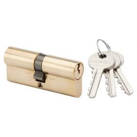 "Cylindre double ""La poste"" - laiton poli - 36 x 36 mm - 1264 RONIS"