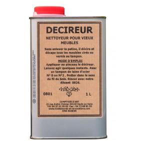 Décireur / Nettoyeur pour vieux meubles 1L COMPTOIR D'ART