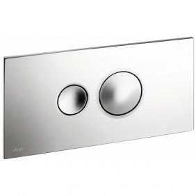 Plaque de commande chromée -  Visign for Style 10 VIEGA