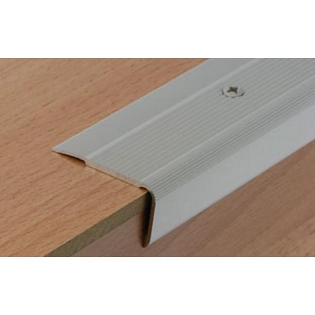 Nez de marche aluminium - pose intérieur et extérieur - Médium 41 V DINAC