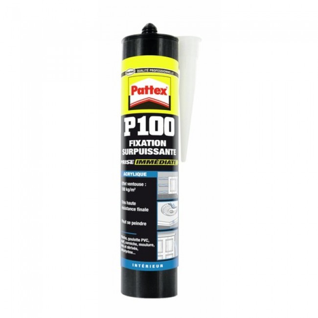 Colle Pattex P 100 acrylique - Fixation surpuissante HENKEL