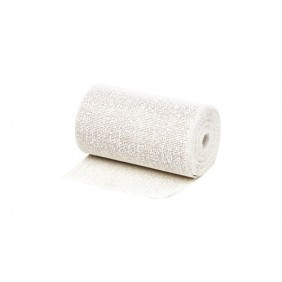 Toile de coton plâtrée - pour protection des isolants - moulage GEB