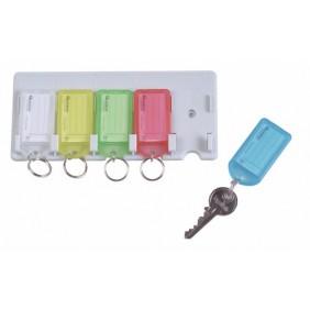 Râtelier à porte-clés + porte-clés