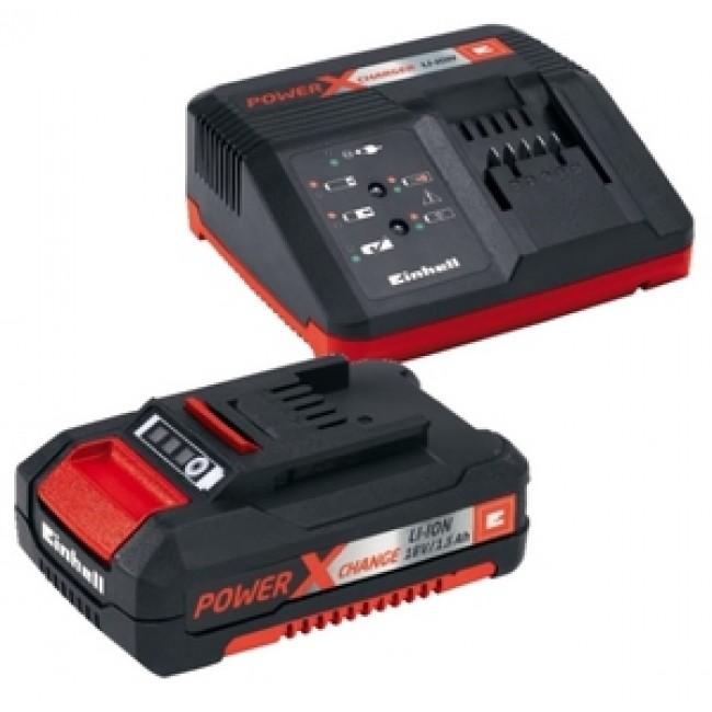 Kit Starter batterie Power-X-Change - 18 volts - 1,5 Ah EINHELL