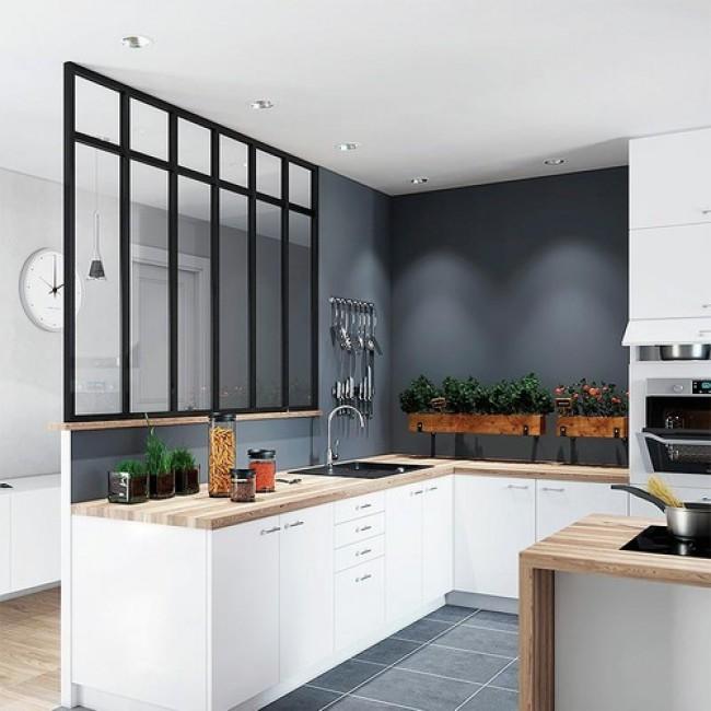 kit pr d coup verri re 4 panneaux largeur 1590 mm verre non inclus seed bricozor. Black Bedroom Furniture Sets. Home Design Ideas