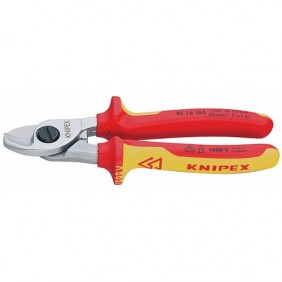 Coupe câble simple tranchant 1000 volts - 95 16 165 KNIPEX