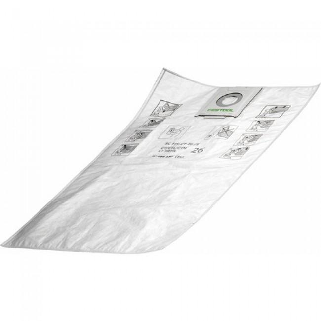 5 sacs filtre SelfClean SC-FIS-CT 36/5 pour aspirateur CT 36 FESTOOL