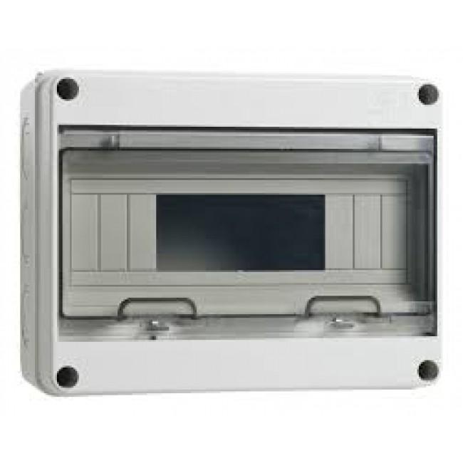 Tableau électrique étanche - IP65 - 4/8 modules - Aquaria AEG