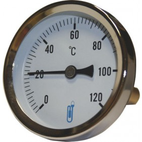 Thermomètre axial Ø 80