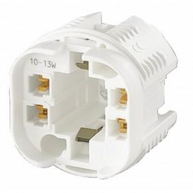 Douille lampe fluorescente - Culot G24Q / GX24Q ORBITEC