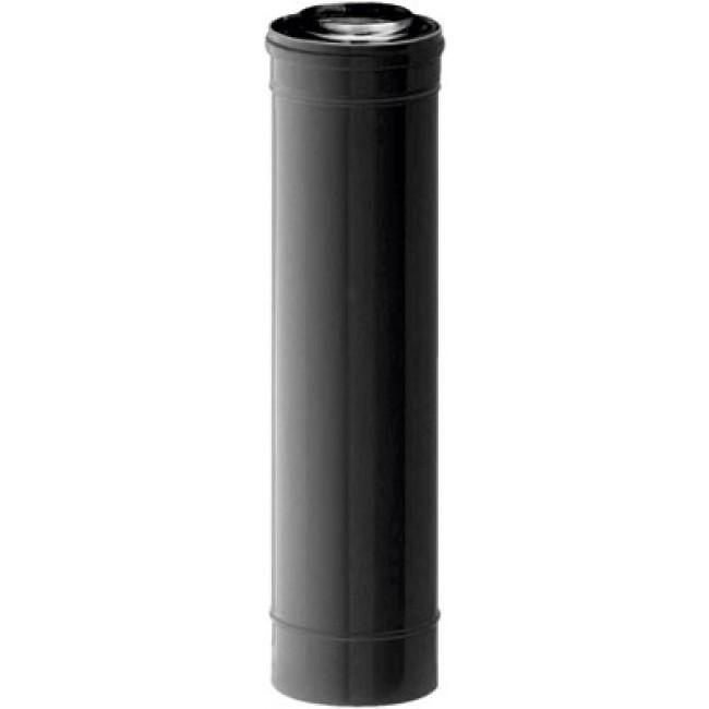 Conduit poêle à granulés étanche - diamètre 80x125 - longueur 1 m TEN
