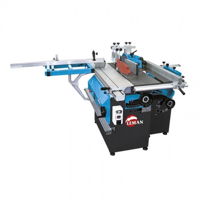 Combiné machine à bois 5 fonctions 250 mm COM250 LEMAN