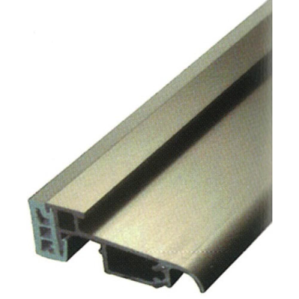 Seuil Aluminium Argent Pour Porte Et Porte Fenêtre Pvc 6 M Bilcocq