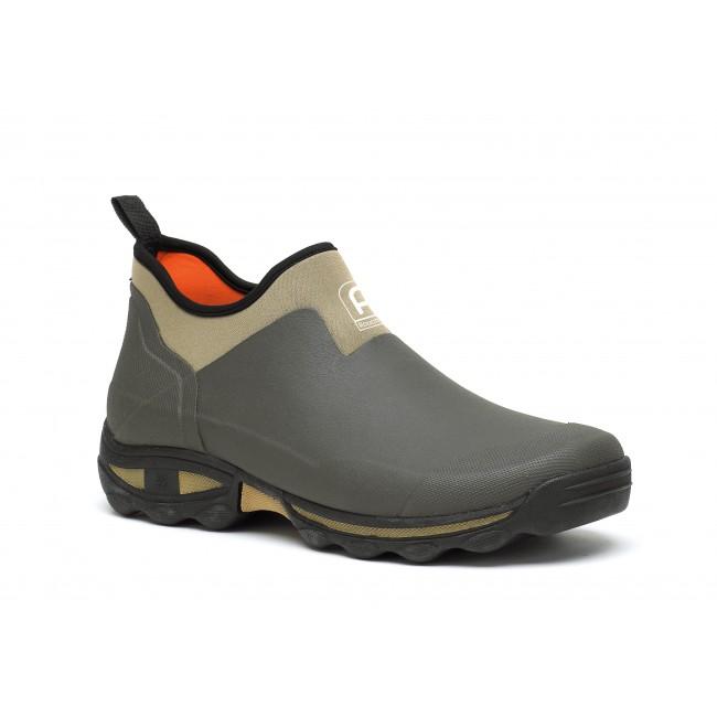 Chaussures multi-activités semelle auto-nettoyante Clean Land - kaki ROUCHETTE