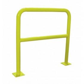 Barrière de sécurité - acier - tube diamètre 40 mm - à platines VISO