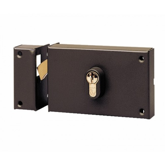 serrure crochet pour porte coulissante cylindre. Black Bedroom Furniture Sets. Home Design Ideas