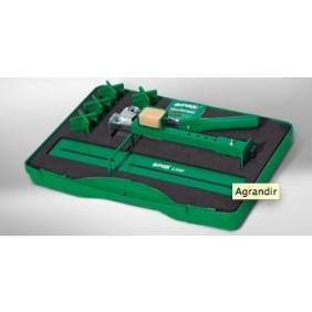 Kit de pose pour terrasse bois avec redresseur de lames Kaiman SPAX