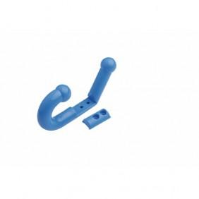Porte-manteaux souple de sécurité Parkid - bleu WATTELEZ