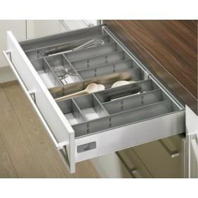 Range-couverts gris InnoPlus pour tiroir de cuisine Innotech