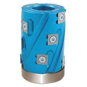 Porte outils hélicoïdal à calibrer, chantourner et dresser LEMAN