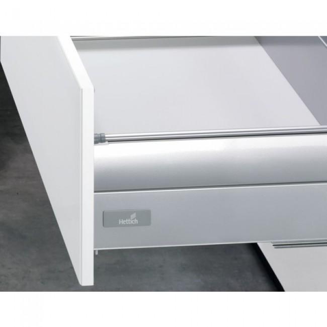 Kit tiroir TopSide argent InnoTech-H144 mm-sans coulisses-anthracite HETTICH