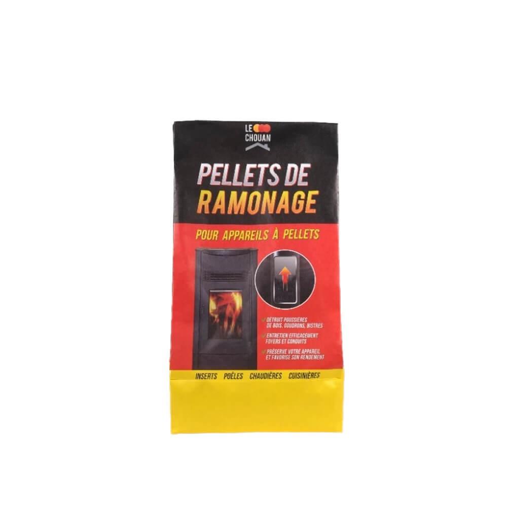 pellets de ramonage pour appareil pellets assistance chimique bricozor. Black Bedroom Furniture Sets. Home Design Ideas