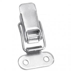 Fermeture à levier et crochet en acier zingué blanc - 10 pièces MONIN