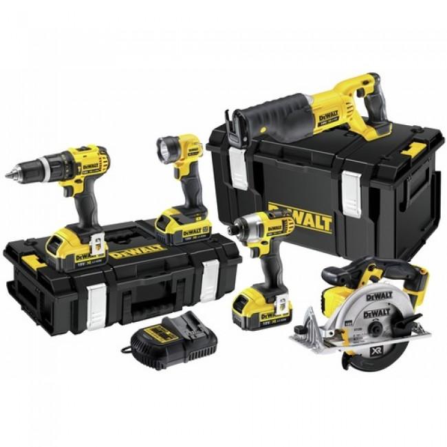 Lot 5 outils sans fil lithium 18V XR DCK591M3