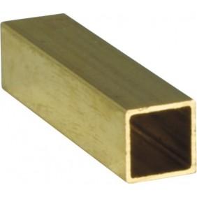 Fourrure carrée - réduction de 8 à 7 mm - fouillot de serrure - laiton BRICOZOR