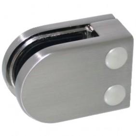 Pinces à verre carré 45x63 mm pour garde-corps - modèle 02 Design Production