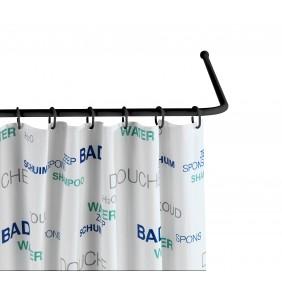 Tringle de douche - Pour angle - Adaptable - Diamètre 2 cm WENKO
