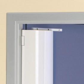 Anti pince-doigts aluminium intégral - pose côté feuillure VACHETTE