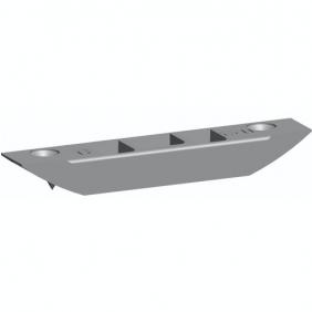 Gâche de tringle à toupiller - têtière 16 mm - 0-0320-00-0-1 FERCO