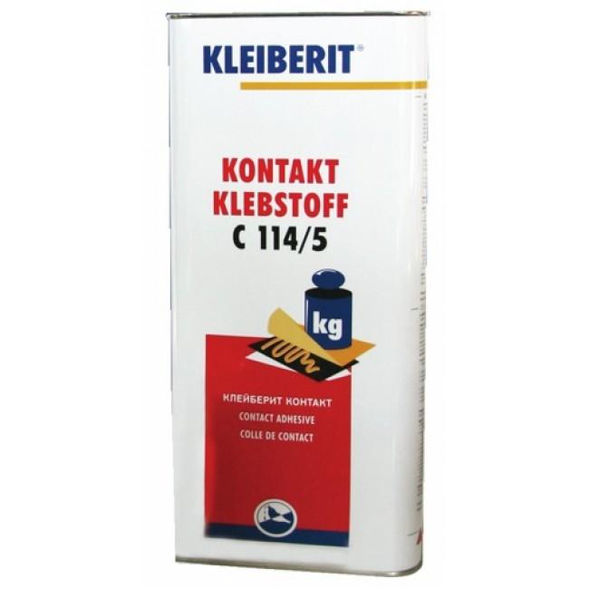 Colle contact néoprène - bidon de 4,5kg - C114/5 KLEIBERIT