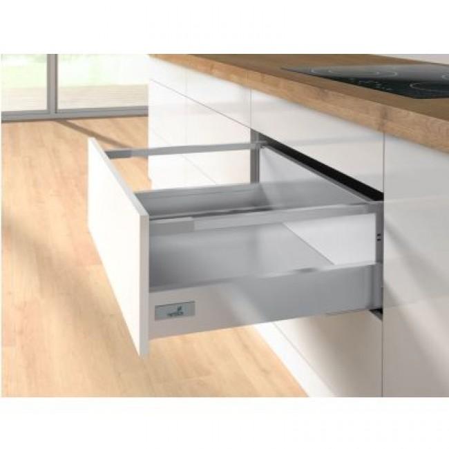 Kit tiroir tringles InnoTech Atira-hauteur 144mm-Push to open 30kg HETTICH