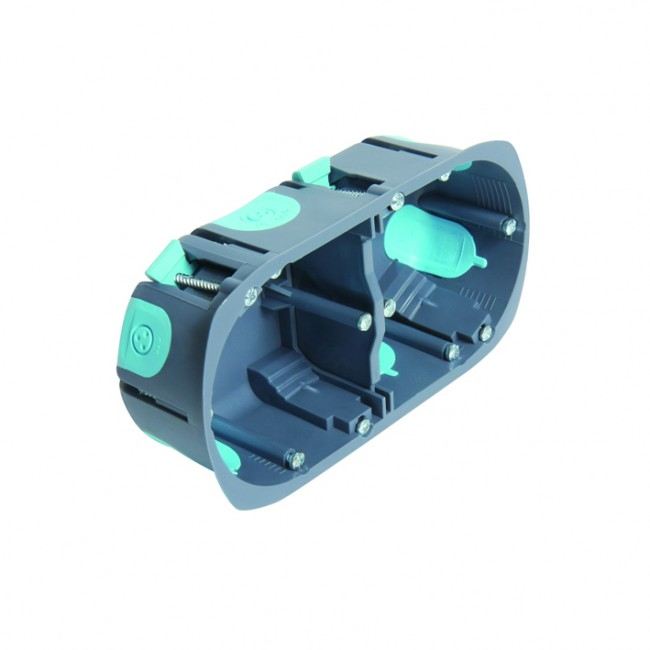 Boite multimatériaux pour appareillage cloison sèche - 40 mm - Stopair DEBFLEX