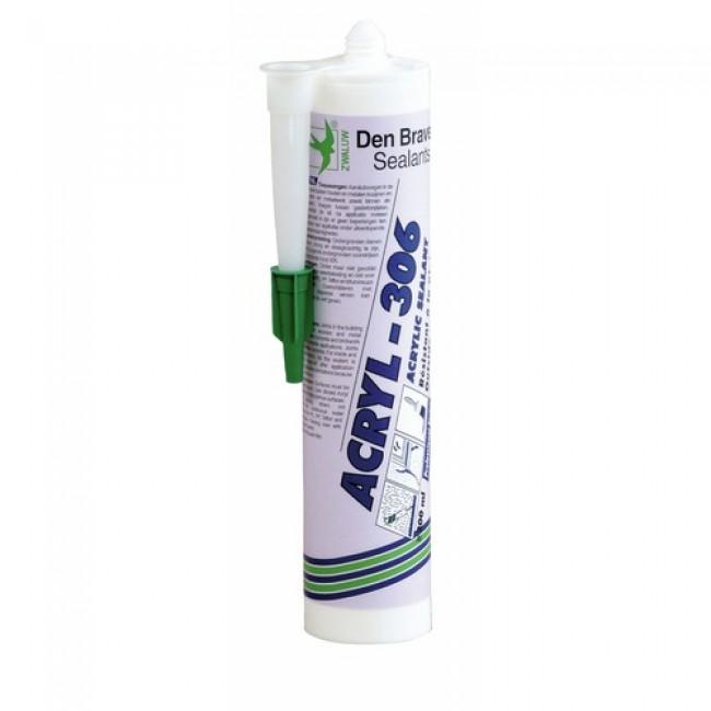 Mastic acrylique - cartouche 300 ml - Acryl 306 DEN BRAVEN
