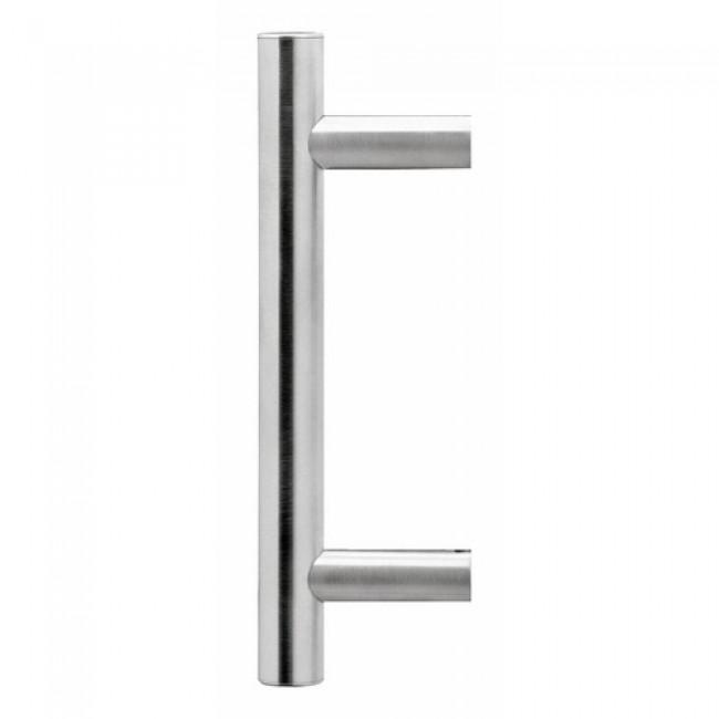 Poignée de porte battante droite en inox - ES3 KARCHER DESIGN