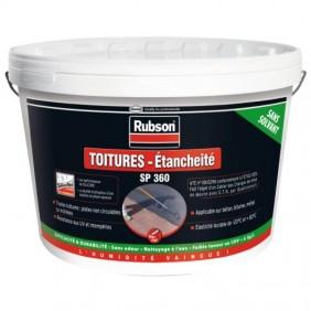 Résine silicone - étanchéité toitures - polyvalent - 5 kg - SP 360 RUBSON