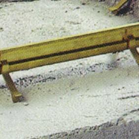 Pattes à sceller pour cadre de paillasson tapis-brosse DINAC