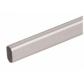 Tube aluminium pour tube de penderie 30x15 DUVAL