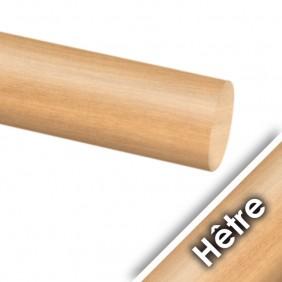 Main courante ronde en bois - diamètre 42 millimètres Design Production