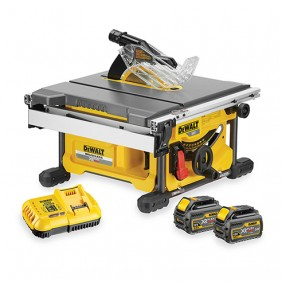 Scie à table 210 mm sans fil 54V XR FLEXVOLT-DCS7485T2 DEWALT