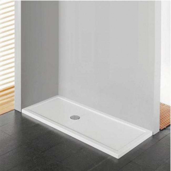 receveur de douche poser extra plat 170x90 cm olympic plus novellini bricozor. Black Bedroom Furniture Sets. Home Design Ideas